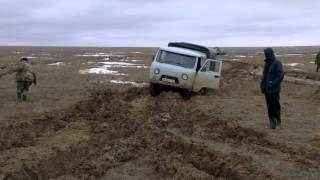 Актюбинск район Шалкар 10 суток в машине ночевали 1