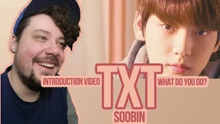 Mikey Reacts to TXT (투모로우바이투게더) 'Introduction Film - What do you do?' - 수빈 (SOOBIN)