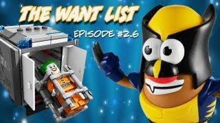 Mr. Potato Head Heroes, Arkham Asylum Legos - The Want List