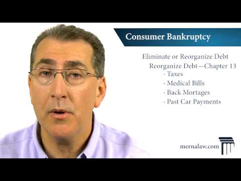 What is Consumer Bankruptcy? Virginia Bankruptcy Lawyer
