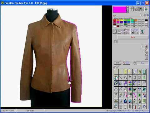 Fashion Toolbox How To Trace A Design From A Photo Youtube