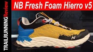 New Balance Fresh Foam Hierro v5 Preview
