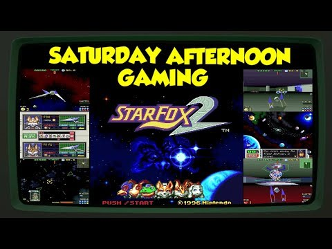 Star Fox 2 (SNES Classic) - Is It Better Than the Original? - Saturday Afternoon Gaming
