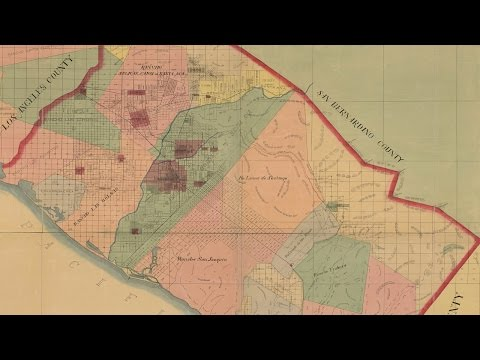 Metal Detecting In Orange County California (1889) Map Collaboration