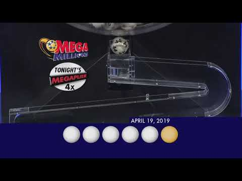 MegaMillions Drawing 04 19 2019