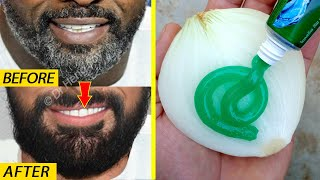 White beard to bląck beard naturally in Just 4 minutes is always 100% working at home