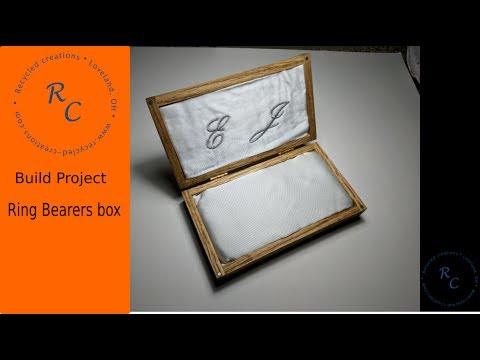 How to Make: a Ring Bearers box