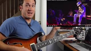 Guitar Teacher REACTS: Santana Samba Pa Ti LIVE