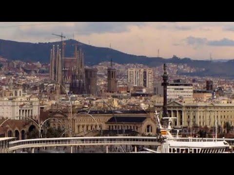 Port of Barcelona, Barcelona, Catalonia, Spain, Europe