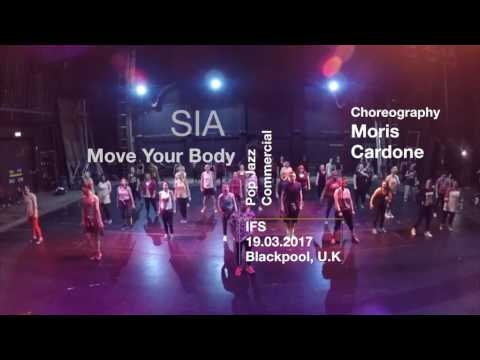 Move Your Body - Sia / Pop Jazz/Commercial class at IFS 2017