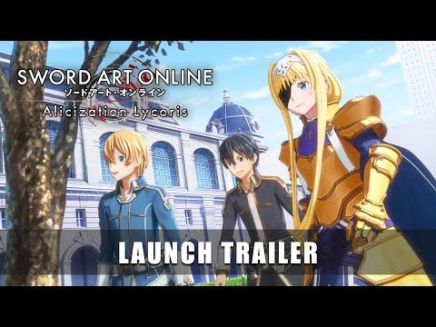 SWORD ART ONLINE Alicization Lycoris – Launch Trailer