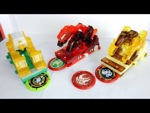 Игрушечные машинки и Скричеры. Трансформация роботов. Видео с игрушками