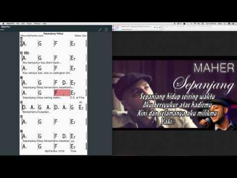Sepanjang Hidup Chords at MyPartitur