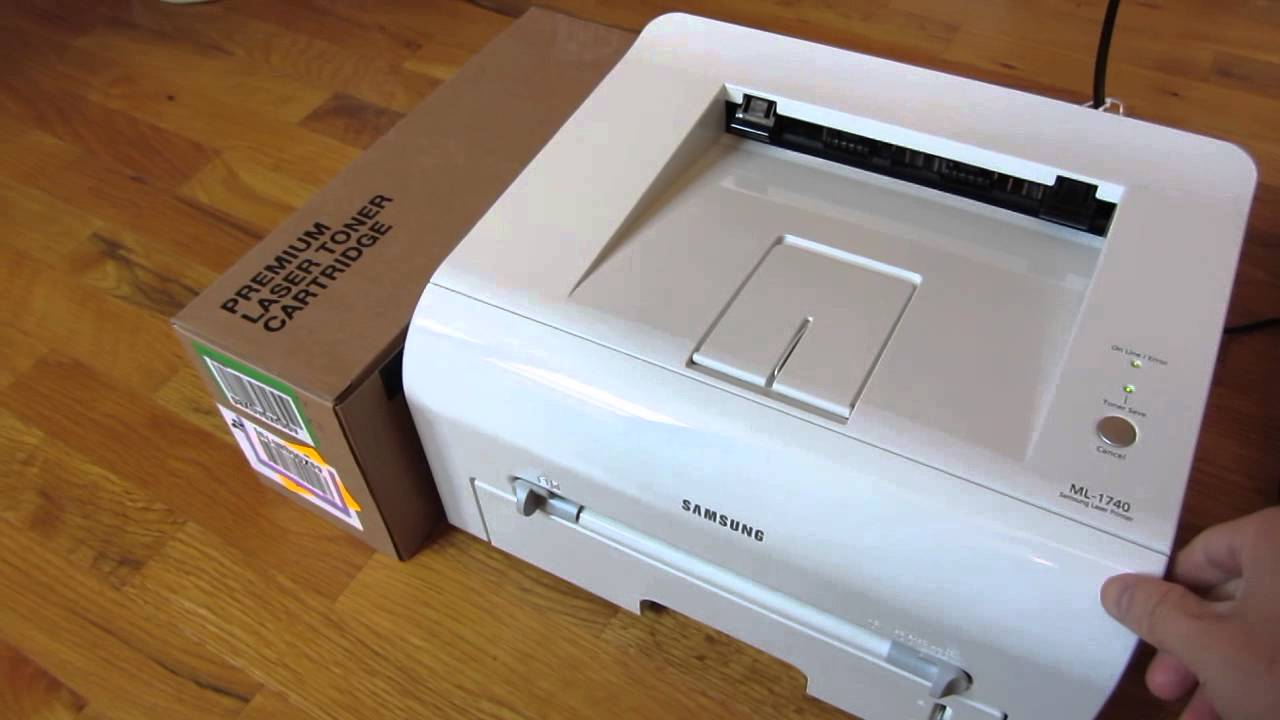 Samsung Laser Printer Ml-1740 Driver For Mac