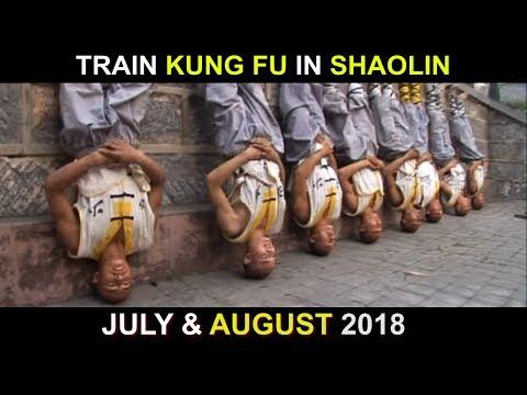 Train Kung Fu in China -  Shaolin Legends Camp