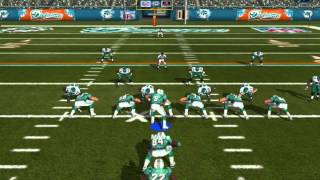 Madden 08 pc gameplay with updated rosters