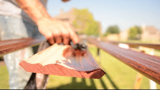 Staining Wood Moulding Tips - (Crown, Baseboard, and Casing)