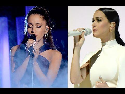 Ariana Grande y Katy Perry Presentaciones en los Grammys 2015!
