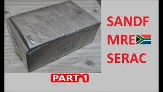 South African Ration Review: 2018 SANDF 24H MRE Menu 8 Part 1 of 2
