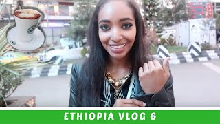 Ethiopia Vlog 6 Kaldi's Coffee Ethiopian Starbucks?! | Amena
