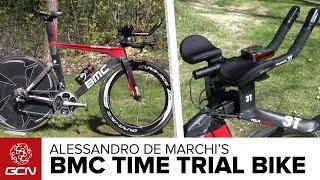 Alessandro De Marchi's BMC Timemachine TM01 Time Trial Bike | Giro D'Italia 2016