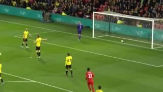 Emre Can Goal VS Watford- 01/05/17. Amazing bicycle kick!!!!
