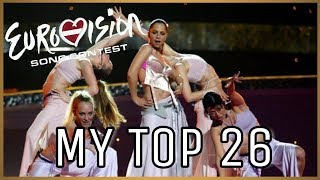 MY TOP 26 | EUROVISION 2003