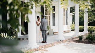 Aliyah + Torun    Beautiful Southern Wedding  
