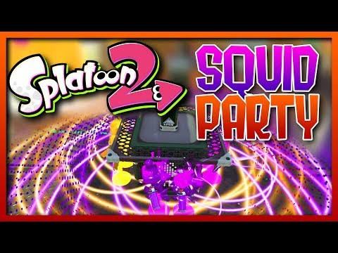 SPLATOON 2 - THE ULTIMATE SQUID PARTY (Funny Moments)