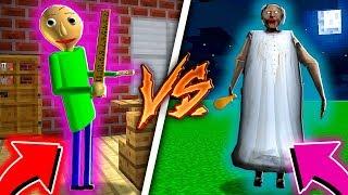 BALDI VS. GRANNY !! - Minecraft