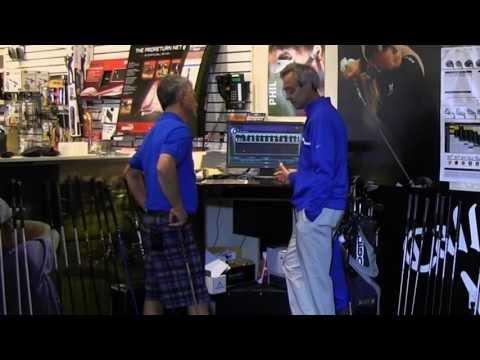 GOLF SMARTER TV - Custom Club Fitting at Local Big Box Pro Shop