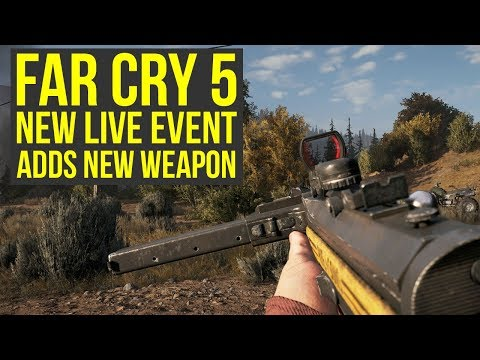 New Far Cry 5 Live Event OUT NOW - Adds NEW WEAPON MP34 Sub Machine Gun (Far Cry 5 Friendly Fire)