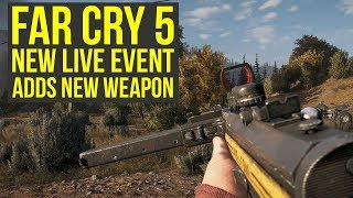 New Far Cry 5 Live Event OUT NOW - Adds NEW WEAPON & More! (Far Cry 5 Friendly Fire - MP34)