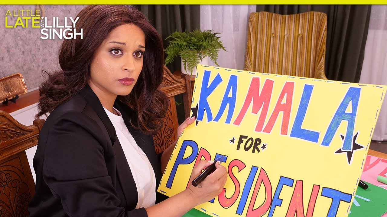 Young Kamala Runs for Class President: An NBC Sitcom