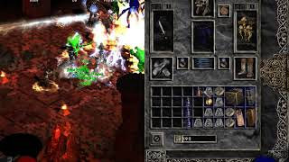 Diablo 2-Baal Run Inferno + Set Nigromante invocación