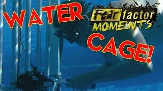 Fear Factor Moments | Drowning Cage