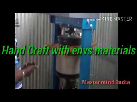 Hand Craft using envs materials Save nature by MASTERMIND INDIA