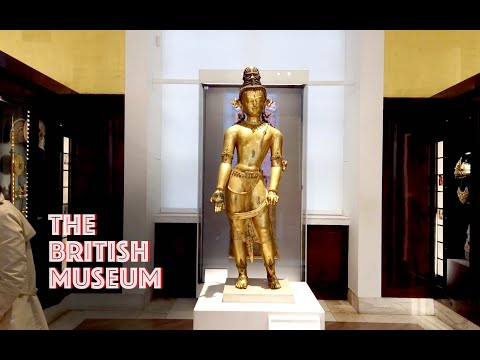 London 伦敦 / The British Museum (A Virtual Tour) Russell Square (The British Empire) / Walk 56