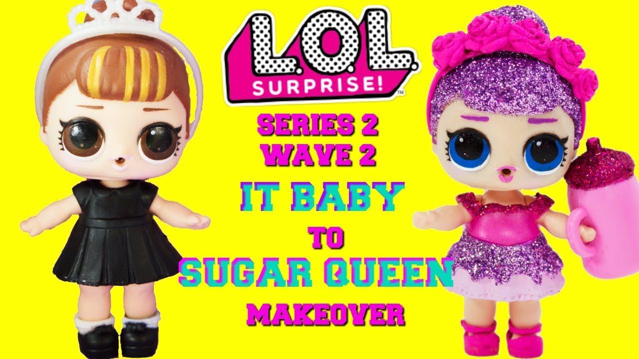 Rare Authentic Head For LOL SURPRISE DOLL Unicorn Series 2 Dolls DIY Toys