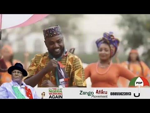 Saura Kwana Uku Adam A Zango Movement Atiku Hausa Song 2019
