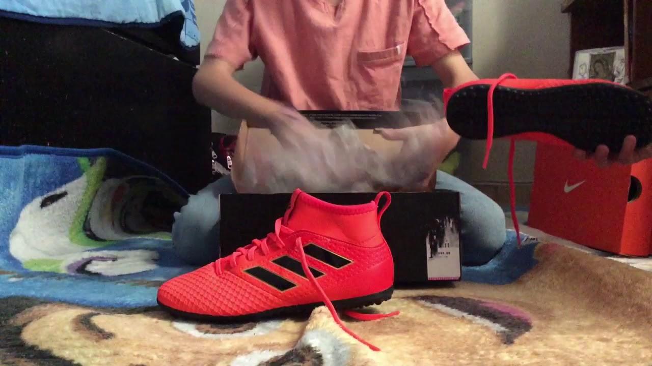 1cb19cccf7a2a Mis tenis de futbol rapido Nike y Adidas - YouTube