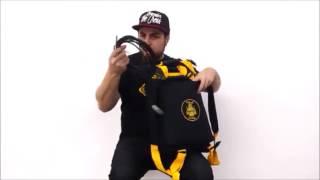 BAG MOCHILA - PITBULL HARDBAGS - DANIEL BATERA