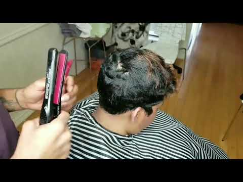 Betty boop pin curls hair tutorial