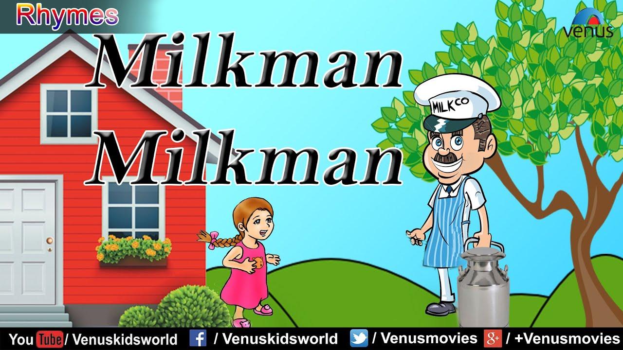 milkman milkman popular rhyme for kids youtube