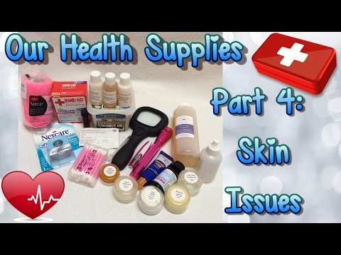 Guinea Pig Health Kit Supplies: Part 4 of 6: Skin Issues and Cuts, Scrapes, Bites