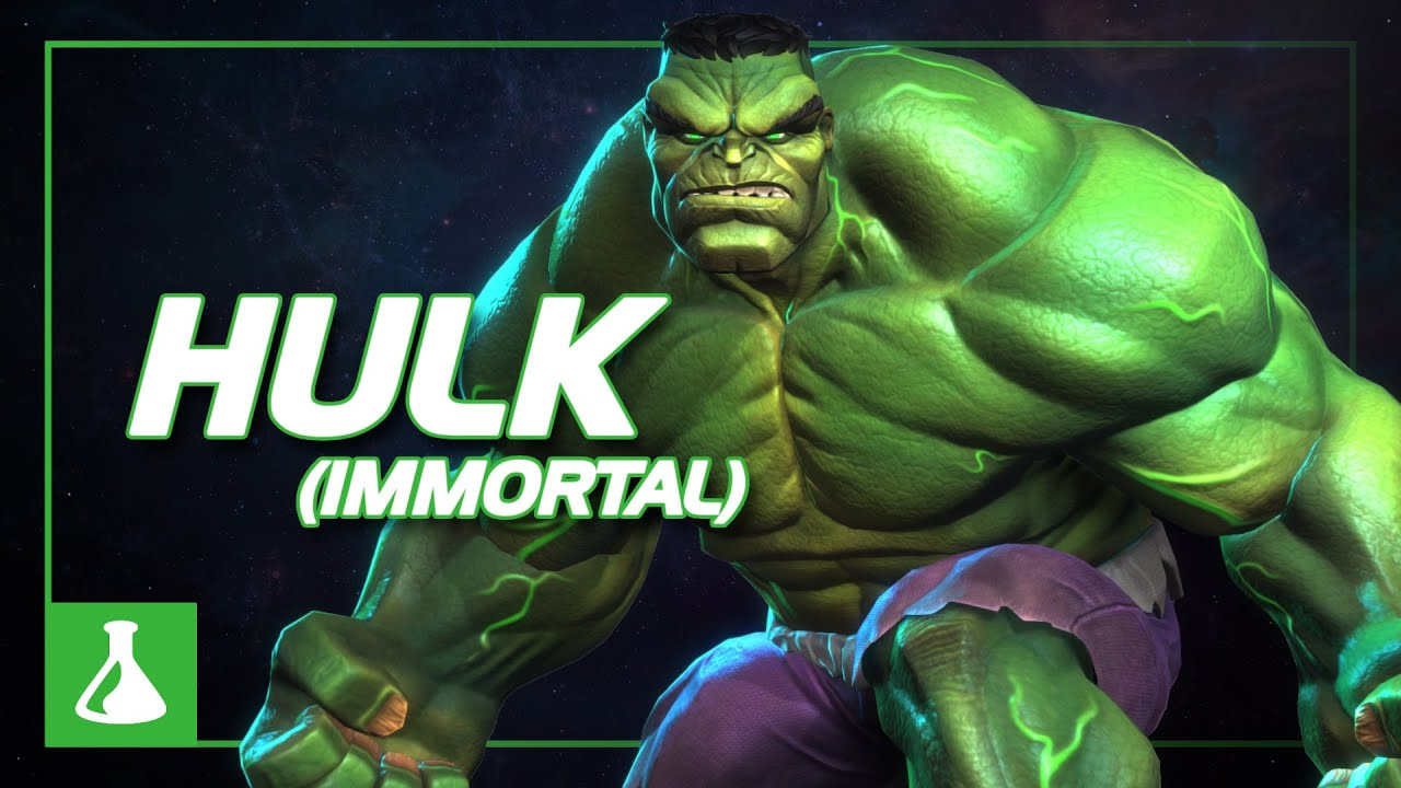Immortal Hulk Special Moves | Marvel Contest of Champions