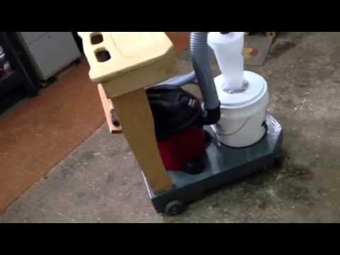 Dust Deputy Cart W Shop Vac Youtube