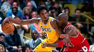 Kobe vs MJ: Their First Matchup