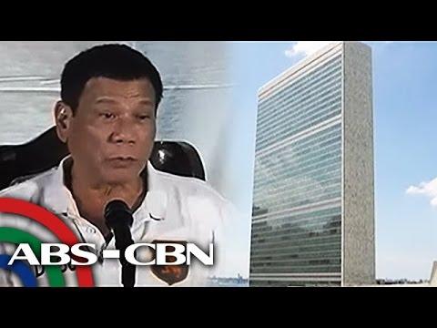TV Patrol: Duterte, nagbantang kakalas ang Pilipinas sa United Nations