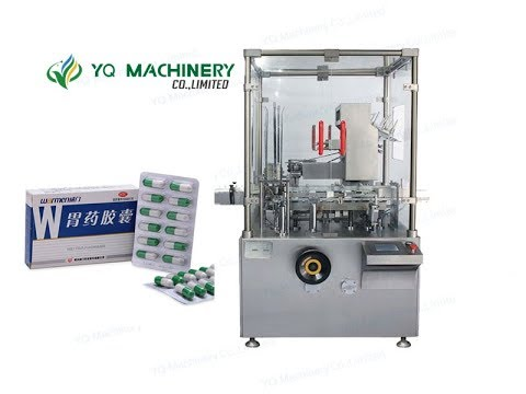 Carton Packing Machine Prices For Tablet Capsule Blister Box Cartoner With Manual Inserter